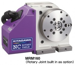 MRM160 Rotary Joint built in as option